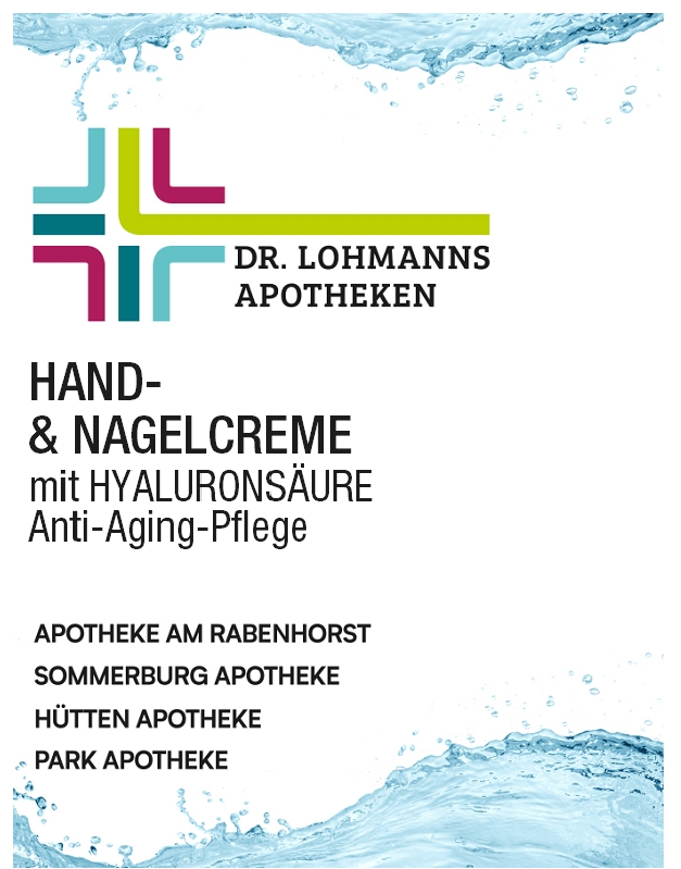 Hand-Nagelcreme Anti-Aging